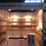 Messestand der Frankfurter Verlagsanstalt